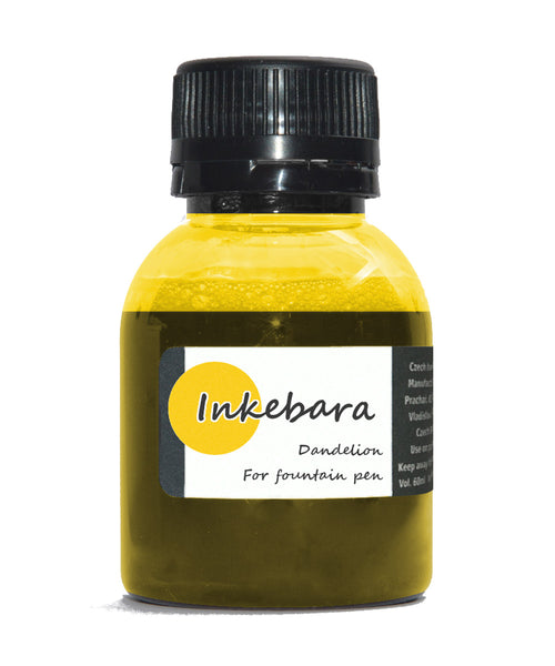 Inkebara Fountain Pen Ink - Dandelion