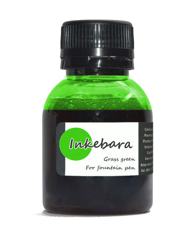 Inkebara Fountain Pen Ink - Grass Green
