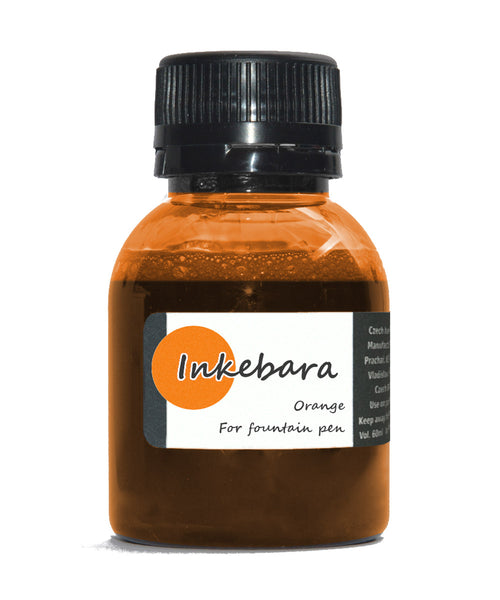Inkebara Fountain Pen Ink - Orange