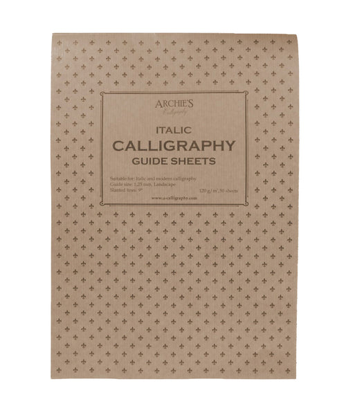 Archie's Calligraphy Paper - Italic 1.25mm