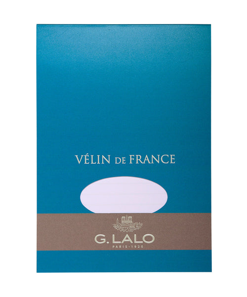 G Lalo Velin de France Writing Paper - A5