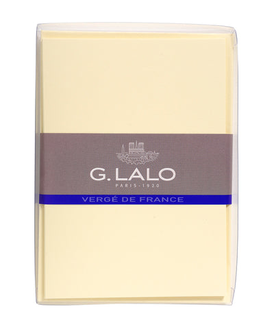 G Lalo Vergé de France Cards with Envelopes - Medium