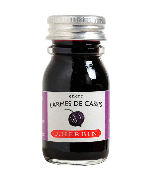 J Herbin Ink (10ml) - Larmes de Cassis (Tears of Blackcurrant)