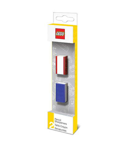 Lego Set of Two Pencil Sharpeners