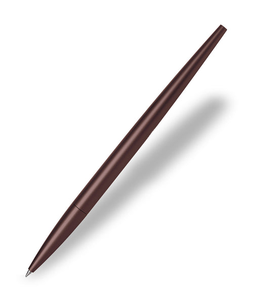 Lexon Scribalu Rollerball Pen with Desk Stand - Brown