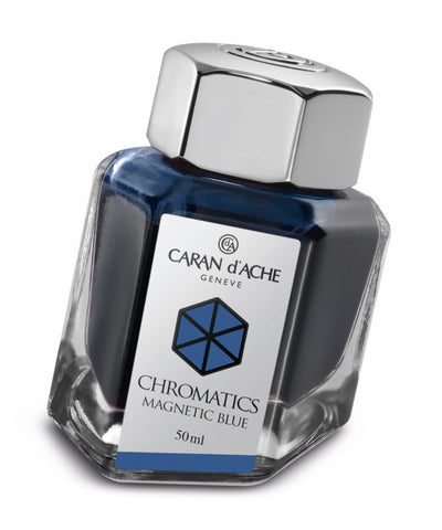 Caran d'Ache Chromatics Ink - Magnetic Blue
