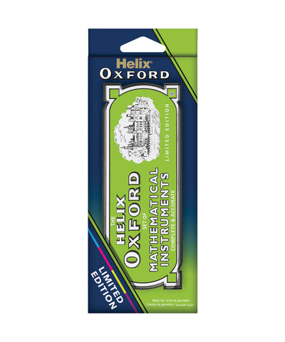 Helix Oxford Limited Edition Maths Set - Green