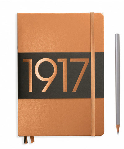 Leuchtturm1917 Medium (A5) 100 Year Anniversary Edition Hardcover Notebook - Copper