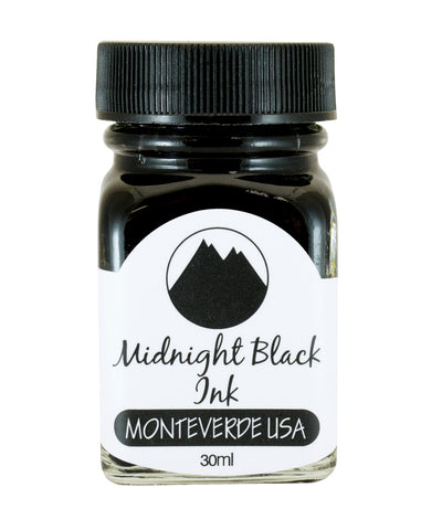 Monteverde Core Collection Ink (30ml) - Midnight Black