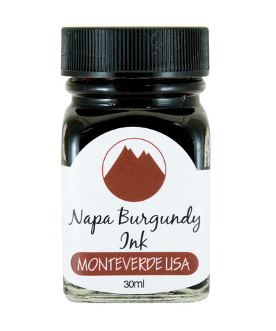 Monteverde Core Collection Ink (30ml) - Napa Burgundy