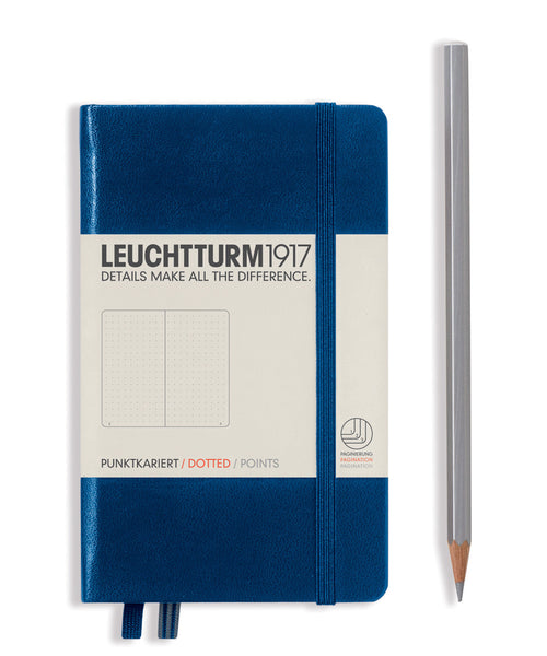 Leuchtturm1917 Pocket (A6) Hardcover Notebook - Navy