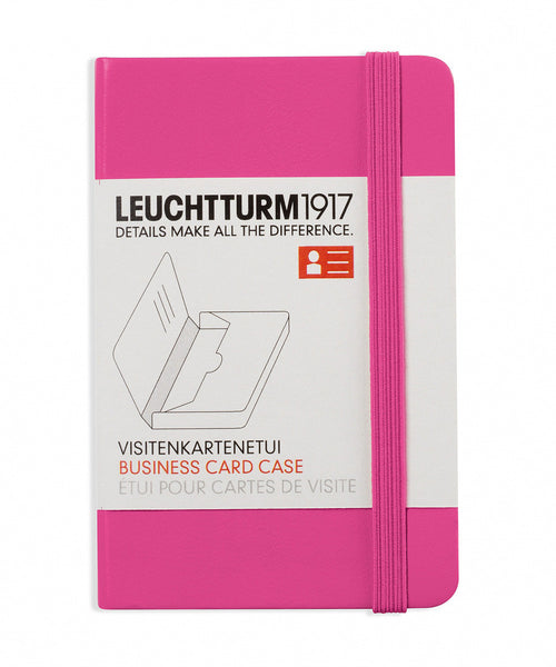 Leuchtturm1917 Business Card Case - New Pink