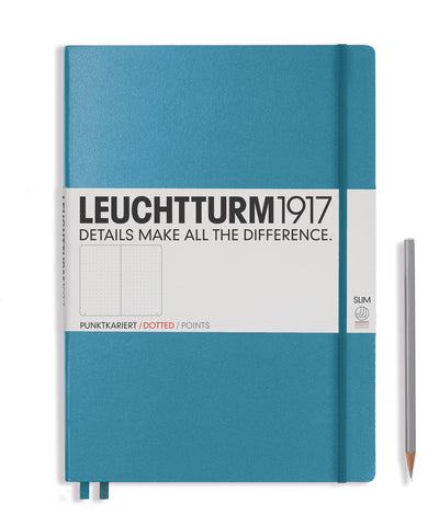Leuchtturm1917 Master Slim (A4+) Hardcover Notebook - Nordic Blue
