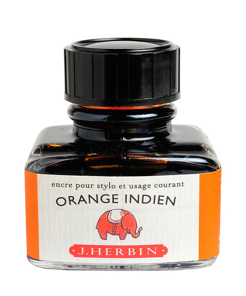 J Herbin Ink (30ml) - Orange Indien (Indian Orange)