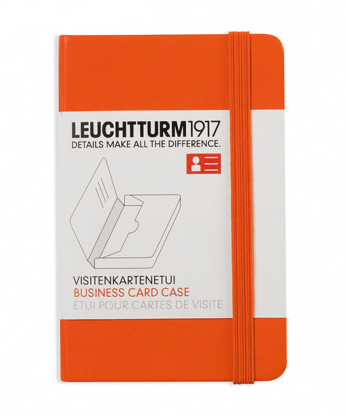 Leuchtturm1917 Business Card Case - Orange