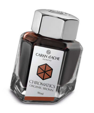 Caran d'Ache Chromatics Ink - Organic Brown
