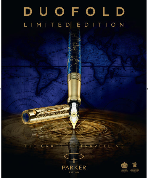 Parker Duofold 130th Anniversary Limited Edition Fountain Pen - The Craft of Travelling