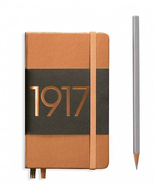 Leuchtturm1917 Pocket (A6) 100 Year Anniversary Edition Hardcover Notebook - Copper