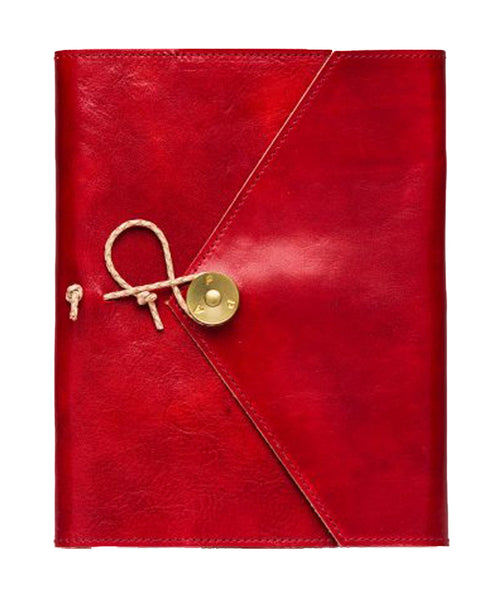 PAP ULF Leather A5 Notebook - Red