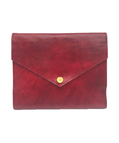 PAP Mia Leather A5 Notebook - Red