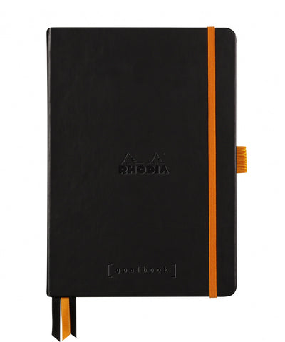 Rhodia A5 Hardcover Rhodiarama Goalbook - Black