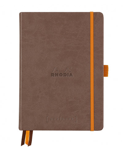 Rhodia A5 Hardcover Rhodiarama Goalbook - Chocolate