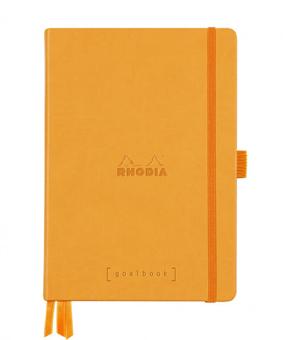 Rhodia A5 Hardcover Rhodiarama Goalbook - Orange