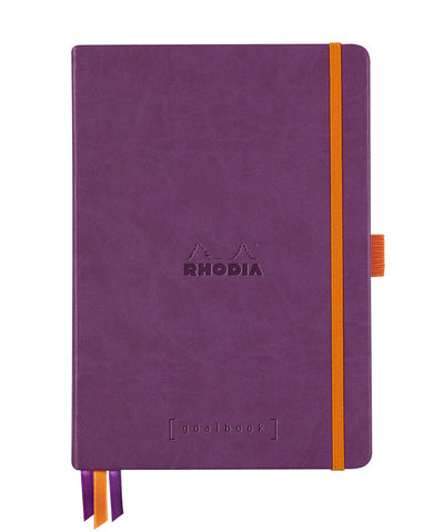 Rhodia A5 Hardcover Rhodiarama Goalbook - Purple