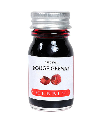 J Herbin Ink (10ml) - Rouge Grenat (Garnet Red)