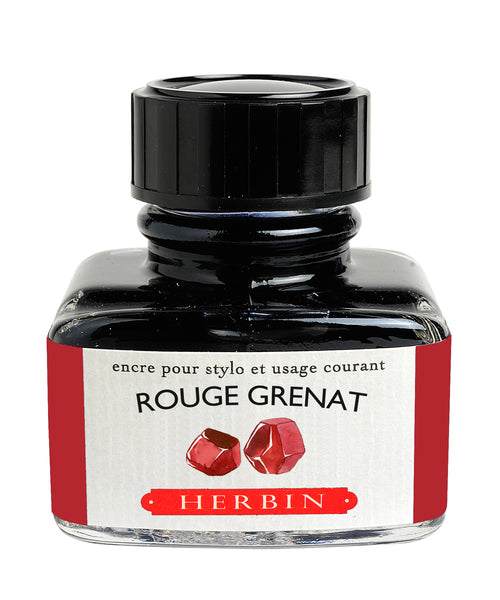 J Herbin Ink (30ml) - Rouge de Grenat (Garnet Red)