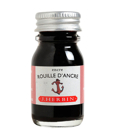 J Herbin Ink (10ml) - Rouille d'Ancre (Rusty Anchor Red)