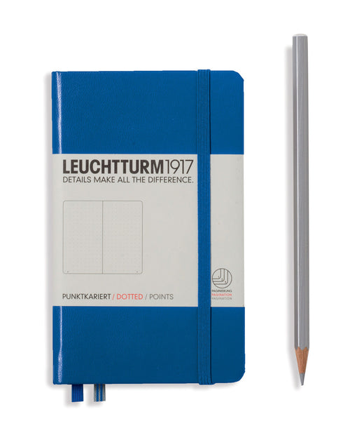 Leuchtturm1917 Pocket (A6) Hardcover Notebook - Royal Blue