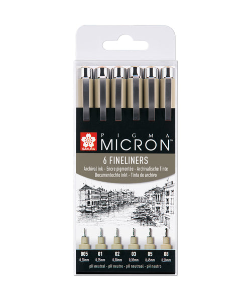 Sakura Pigma Micron Pen Set - Black