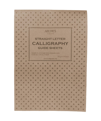 Archie's Calligraphy Paper - Straight Letter