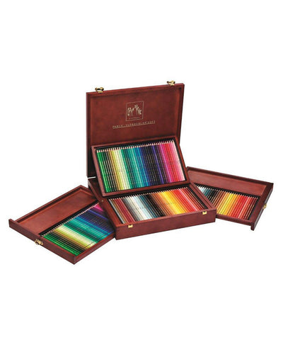 Caran d'Ache Supracolor/Pablo Wooden Box Set