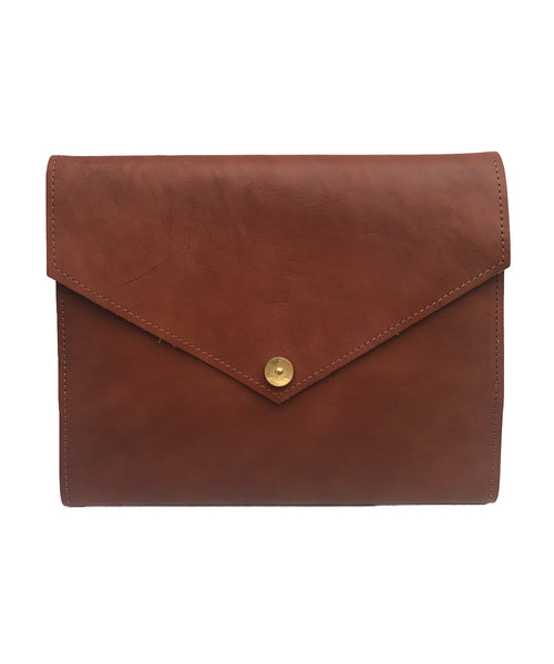 PAP Mia Leather A5 Notebook - Tan