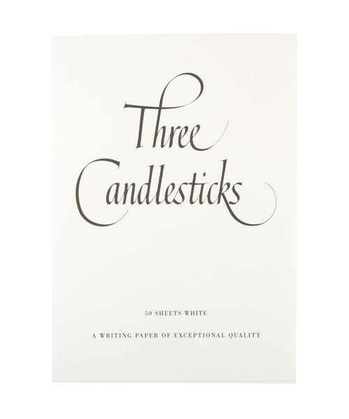 Three Candlesticks Writing Paper - A5