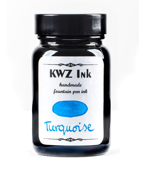 KWZ Standard Fountain Pen Ink - Turquoise