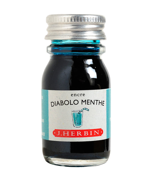 J Herbin Ink (10ml) - Diabolo Menthe (Peppermint Soda)