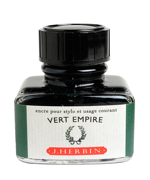 J Herbin Ink (30ml) - Vert Empire (Empire Green)