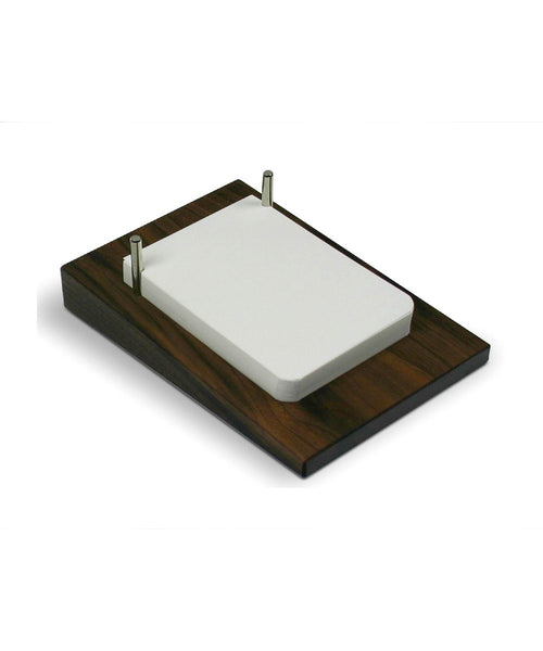 Off Lines Paper Station Desk Pad - Walnut
