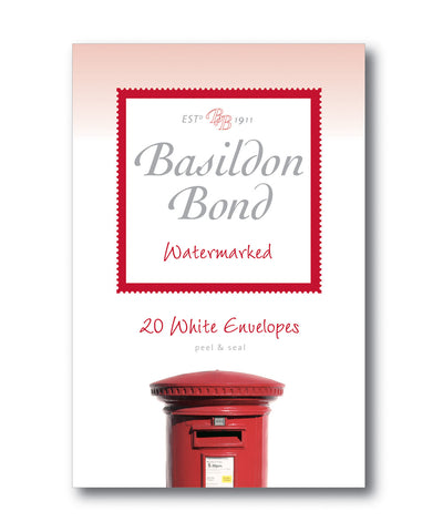 Basildon Bond Envelopes - White