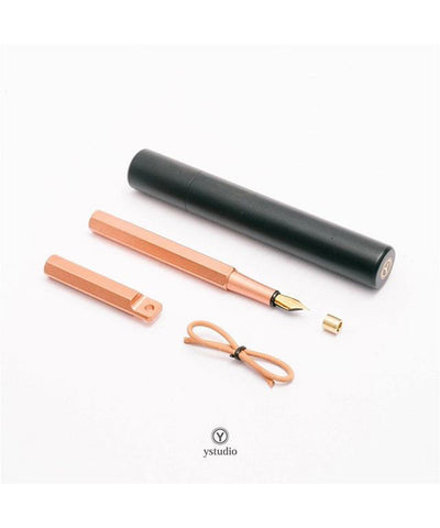 Ystudio Portable Fountain Pen - Copper