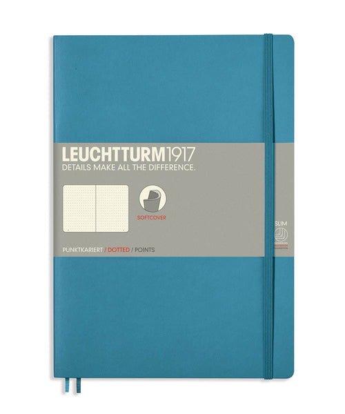 Leuchtturm1917 Composition (B5) Softcover Notebook - Nordic Blue