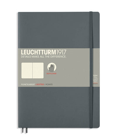 Leuchtturm1917 Composition (B5) Softcover Notebook - Anthracite
