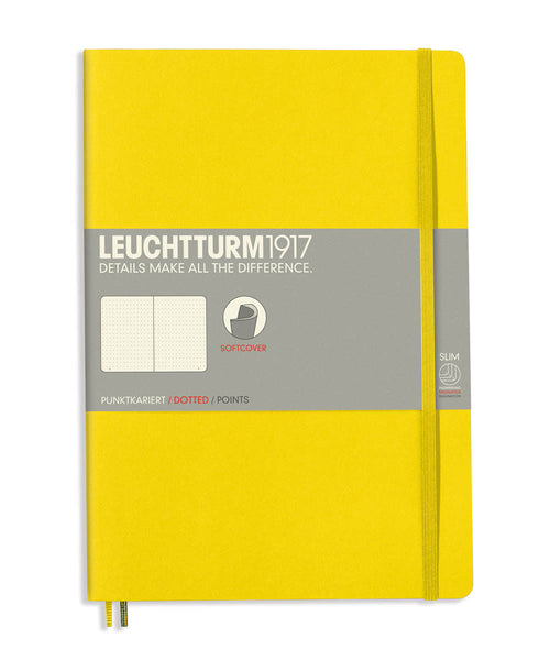 Leuchtturm1917 Composition (B5) Softcover Notebook - Lemon