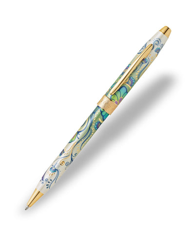 Cross Botanica Ballpoint Pen - Green Daylily