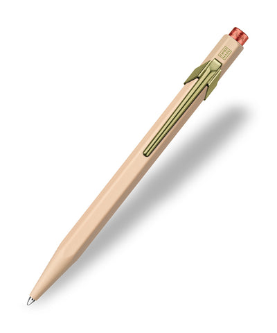 Caran d'Ache 849 Claim Your Style Limited Edition Ballpoint Pen - Beige