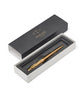 Parker Jotter Premium Ballpoint Pen - West End Brushed Gold with Gold Trim