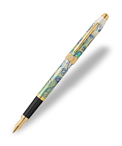 Cross Botanica Fountain Pen - Green Daylily